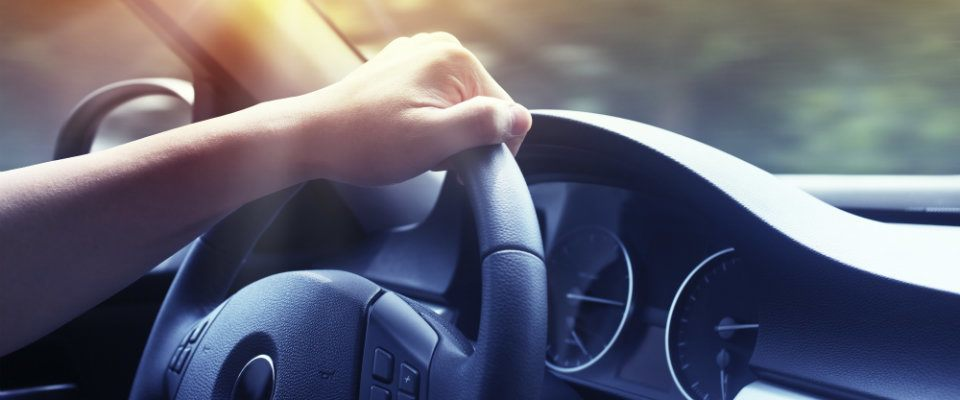 hand steering
